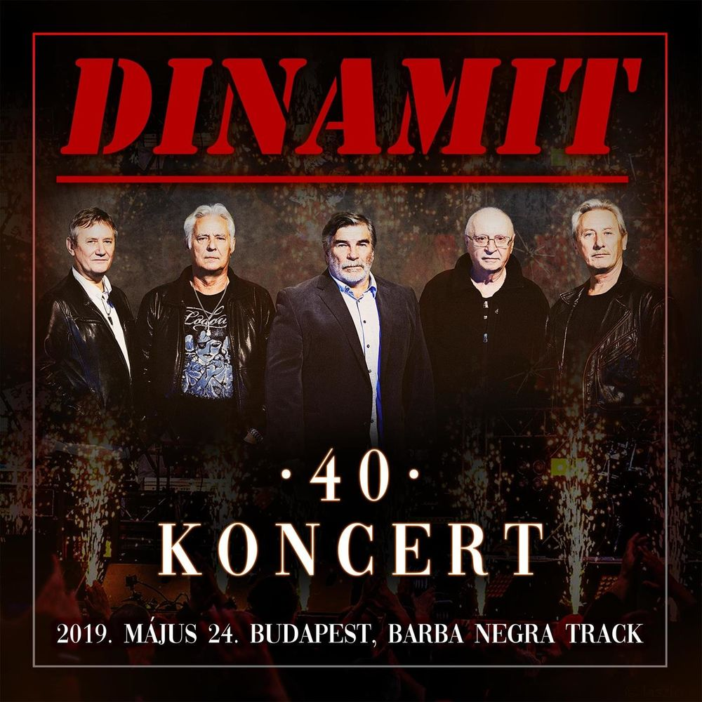 DINAMIT: 40 koncert