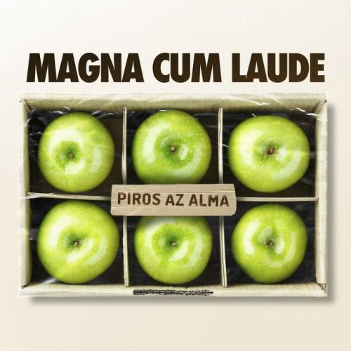 MAGNA CUM LAUDE: Piros az alma