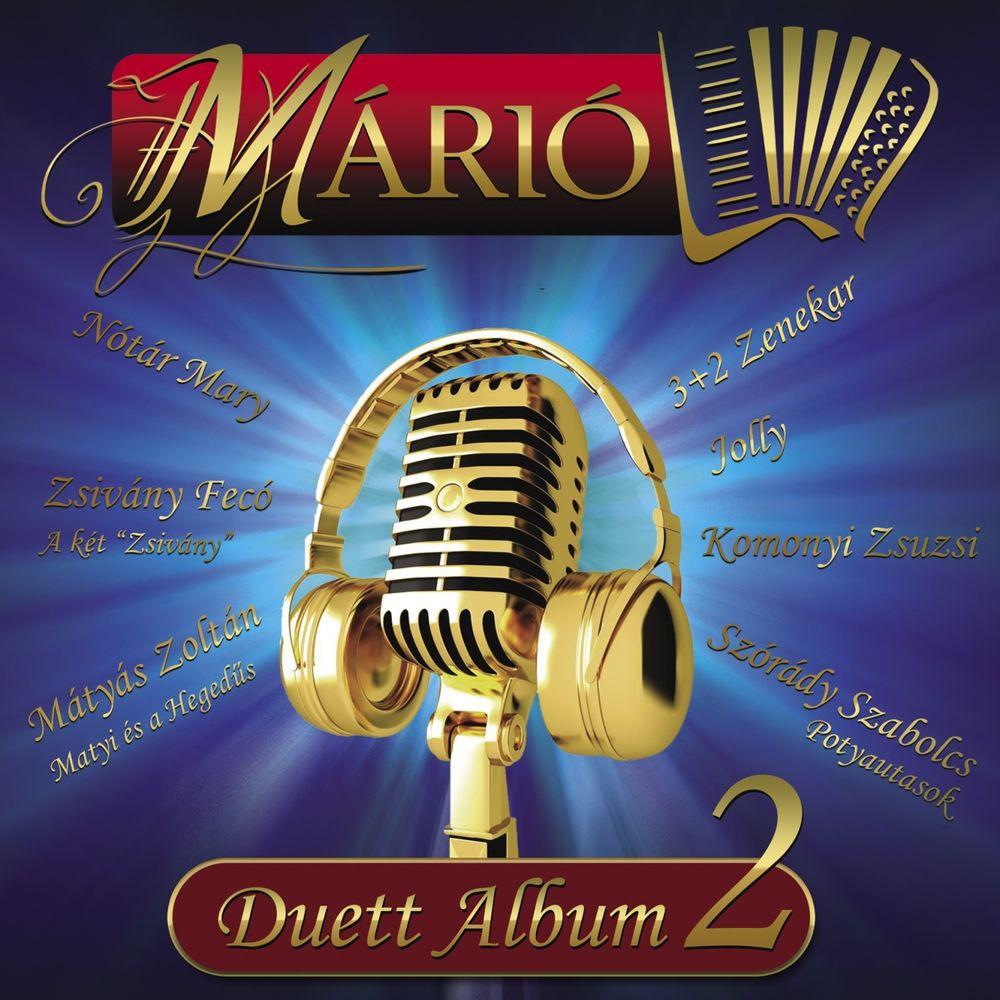 MÁRIÓ: Duett album 2