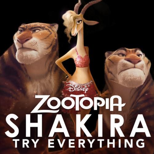 SHAKIRA: Try Everything