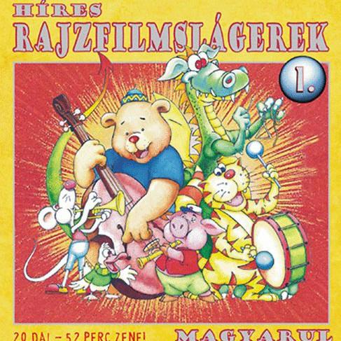 GYEREKLEMEZ: Híres rajzfilmslágerek magyarul 1.
