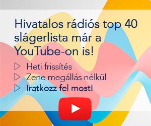 Hivatalos magyar rádiós top 40 slágerlista