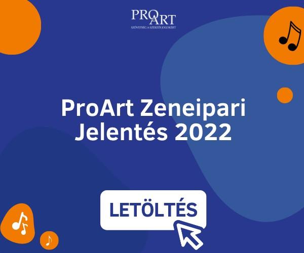 ProArt Zeneipari Jelentés 2019